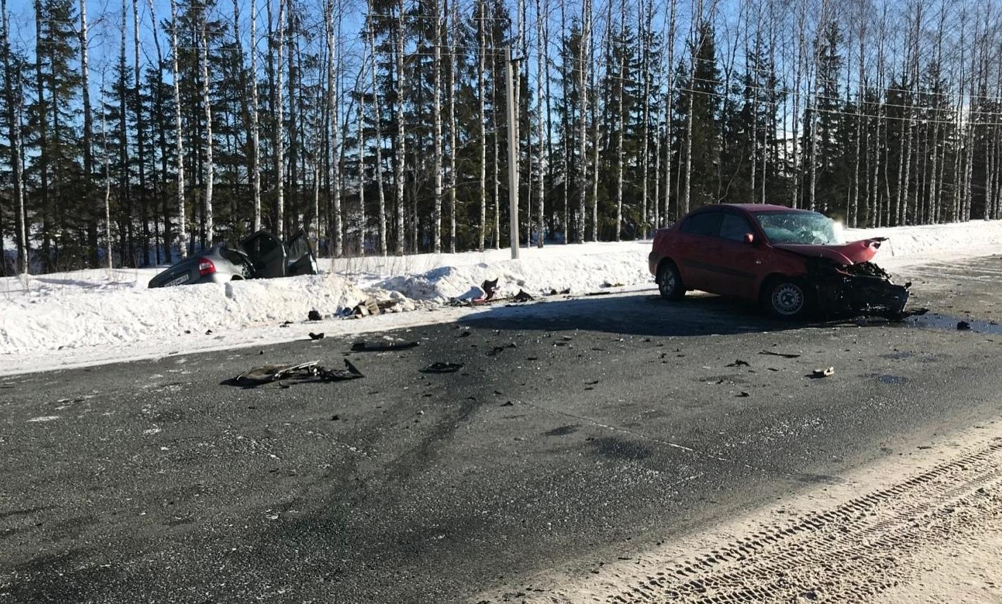 В ДТП в Кикнурском районе пострадали 4 человека.