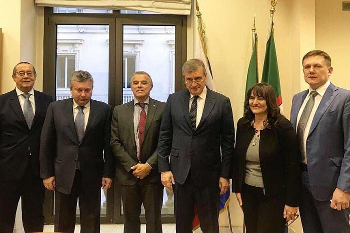 Губернатор Кировской области Игорь Васильев находится с рабочим визитом в Италии.