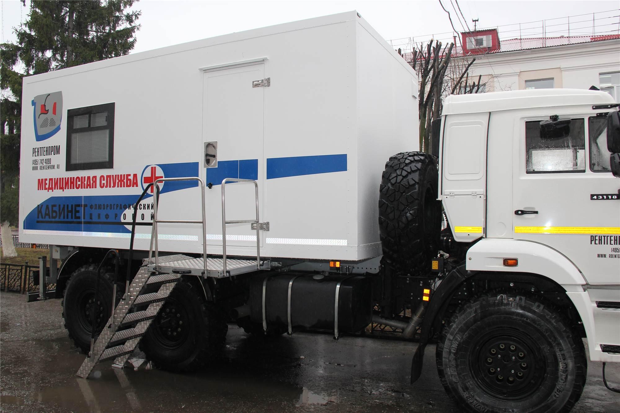 24 марта в Кирове будет работать передвижной флюорограф.