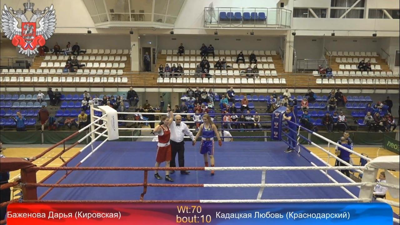 Кировская спортсменка стала победительницей первенства России по боксу.