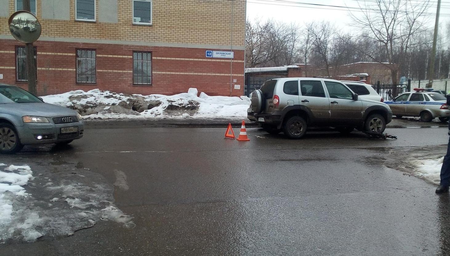 На улице Орловской ВАЗ-2123 сбил ребенка на велосипеде.