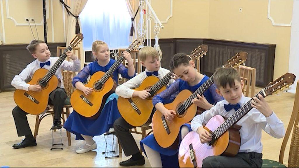 Юные музыканты участвуют в конкурсе