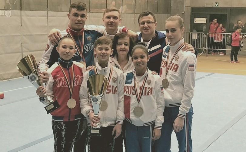 Кировские спортсмены завоевали Кубок мира по спортивной акробатике.