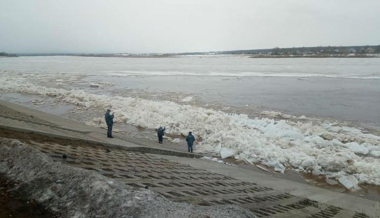 За сутки уровень воды в Вятке вырос на 50 сантиметров.