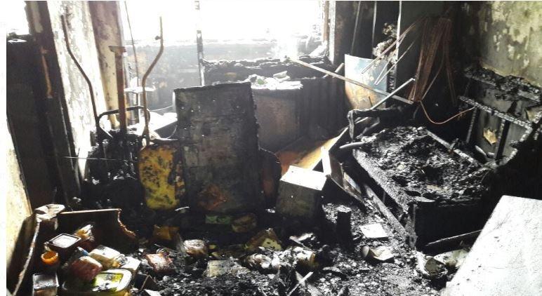 В Белохолуницком районе на пожаре погиб 56-летний мужчина.