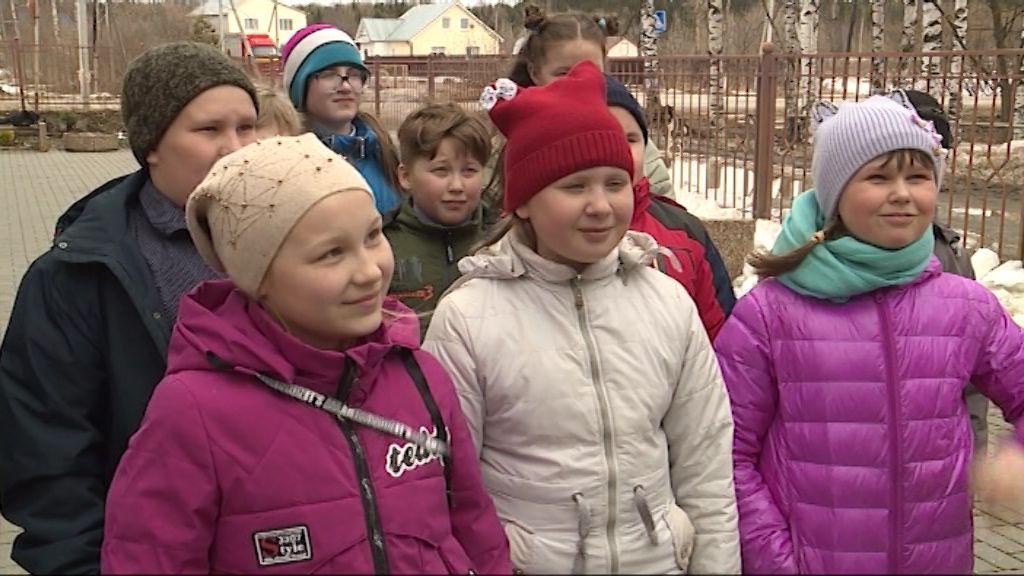 Четвероклассники из Дороничей смогли поучаствовать в колокольной импровизации