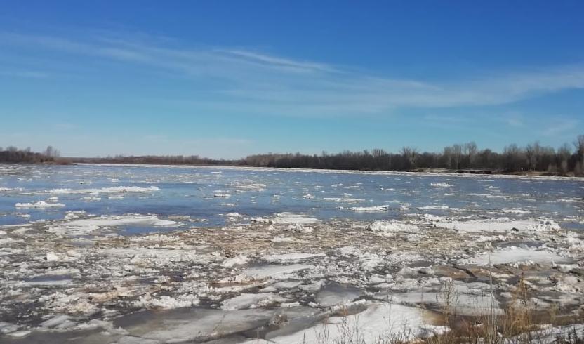 Вода в реке Вятке продолжает прибывать.