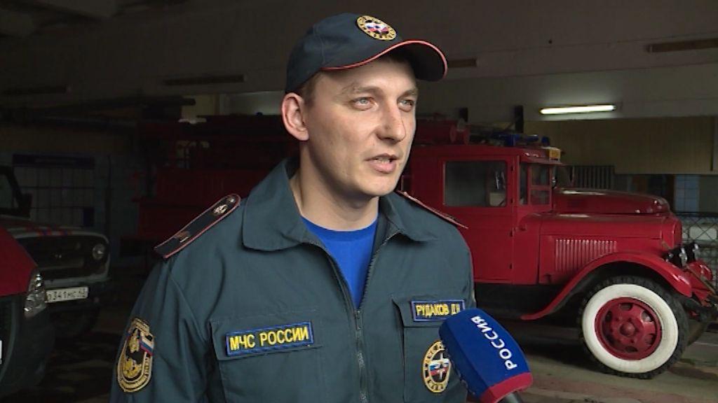 Кировского спасателя Дениса Рудакова предоставили к награде