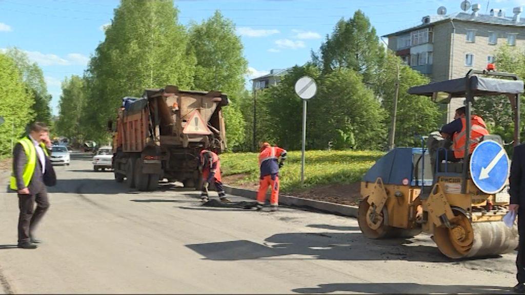 В Нововятском районе будут отремонтированы четыре участка дорог