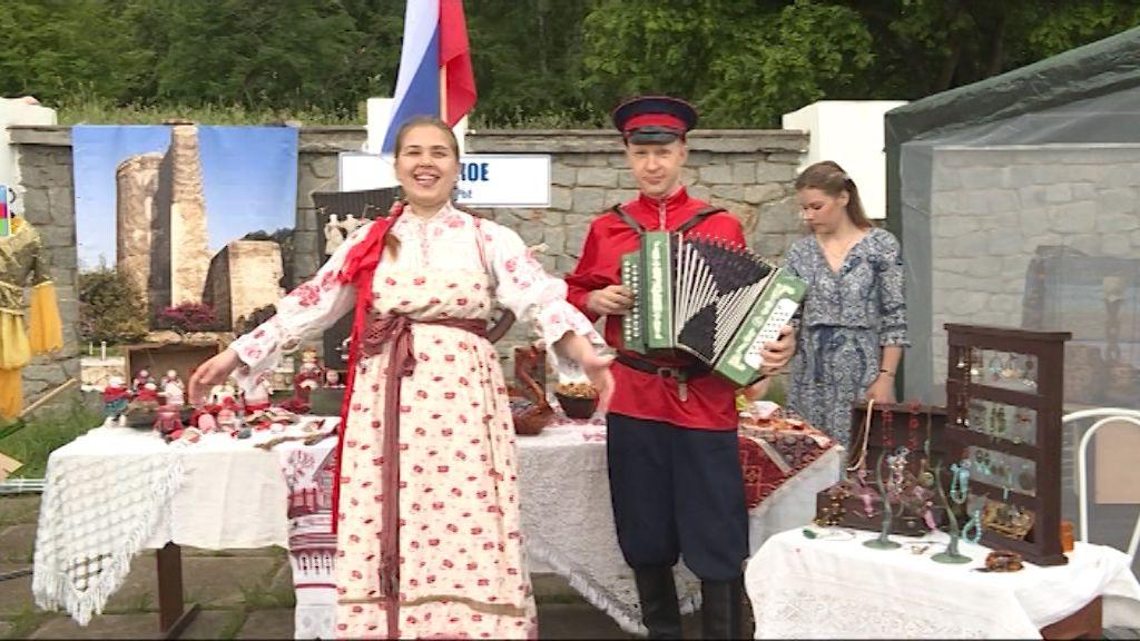В Кирове у Диорамы прошел Фестиваль национальных культур