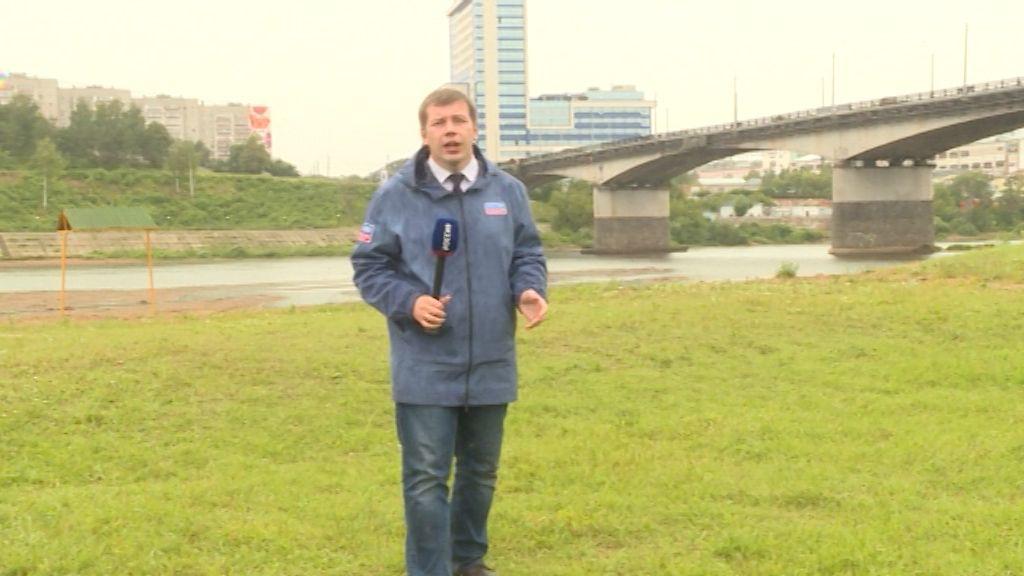 В Кирове открыли городской пляж, но купаться пока не рекомендуют