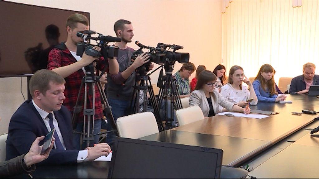 Илья Шульгин ответил на вопросы кировских журналистов