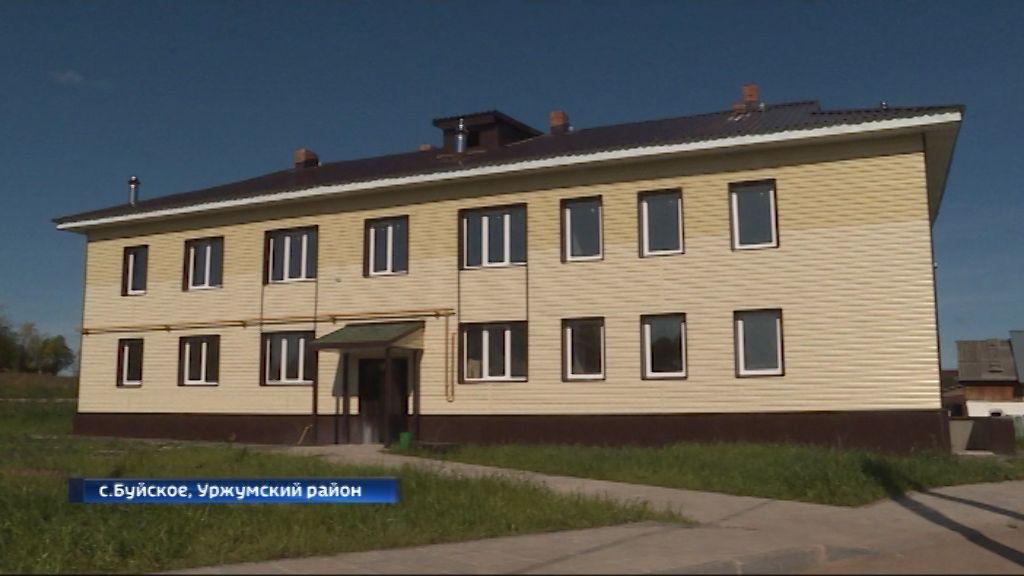 В Уржумском районе готовятся к новоселью жители села Буйского