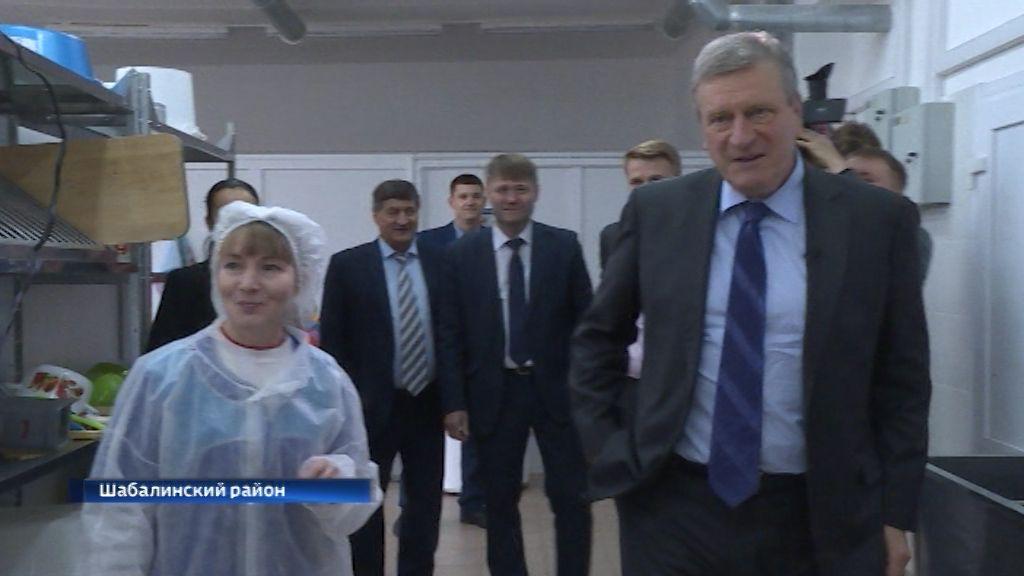 Губернатор Игорь Васильев с рабочим визитом побывал в Шабалинском районе