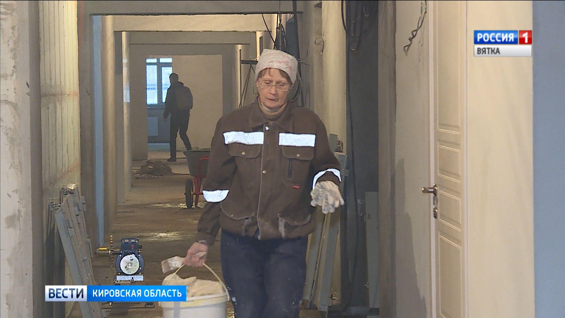 В Кирове продолжается строительство детских садов