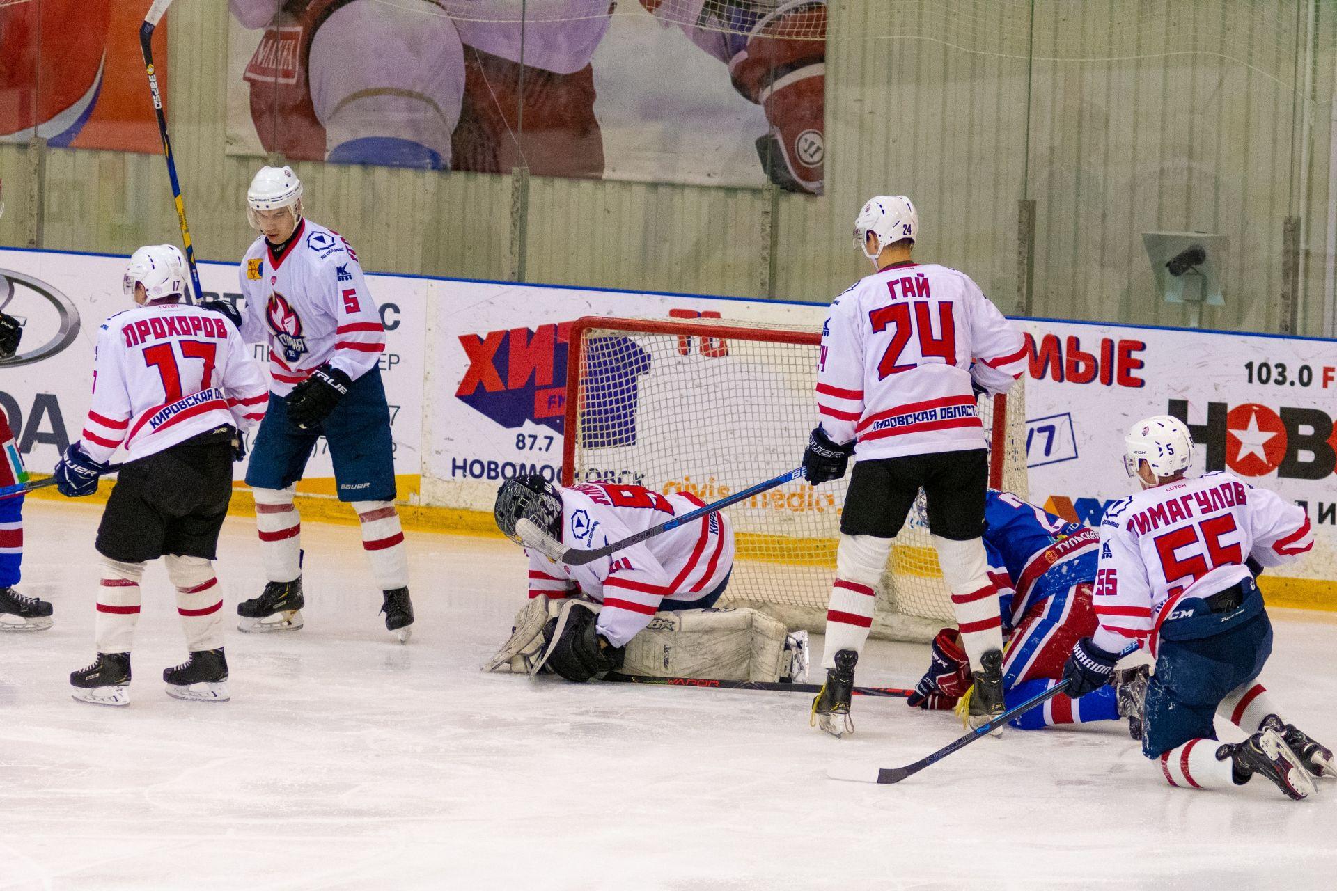 МХК «Олимпия» открывает игровой год тремя домашними матчами.