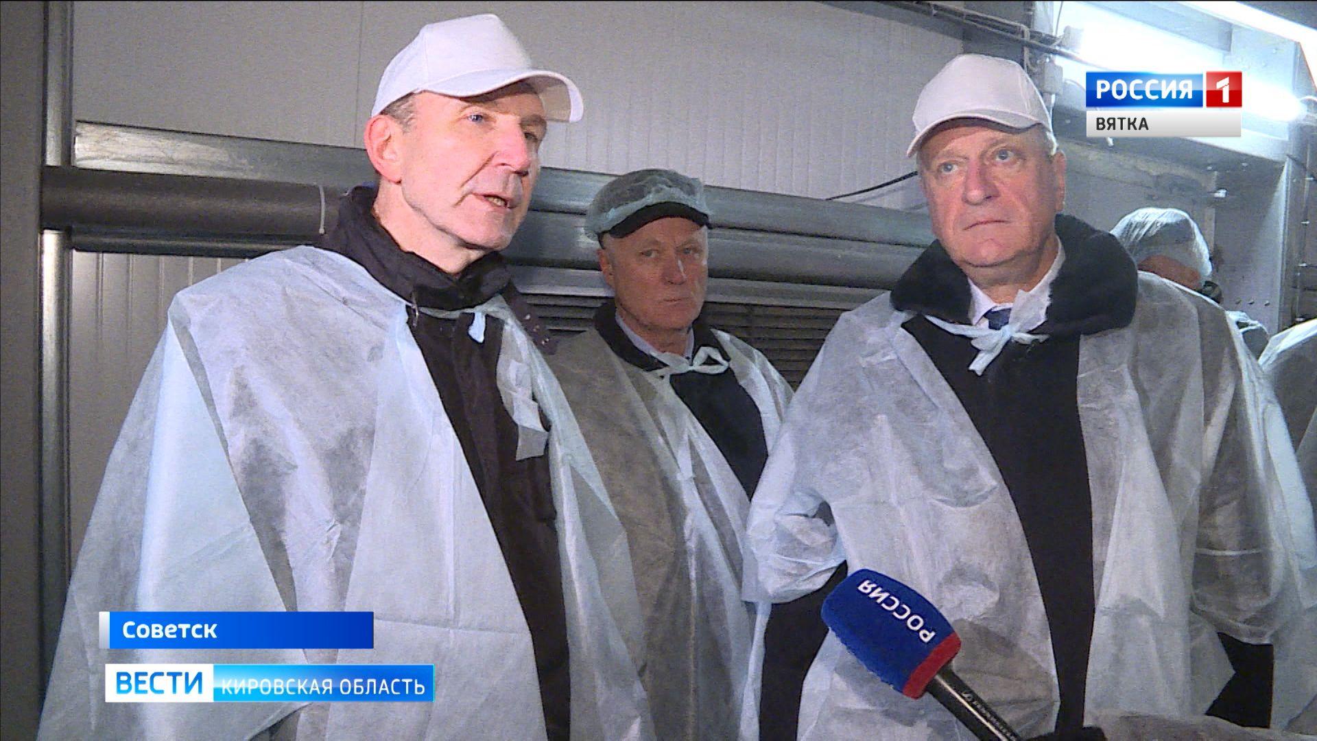Советская птицефабрика запустила очередной высокотехнологичный корпус