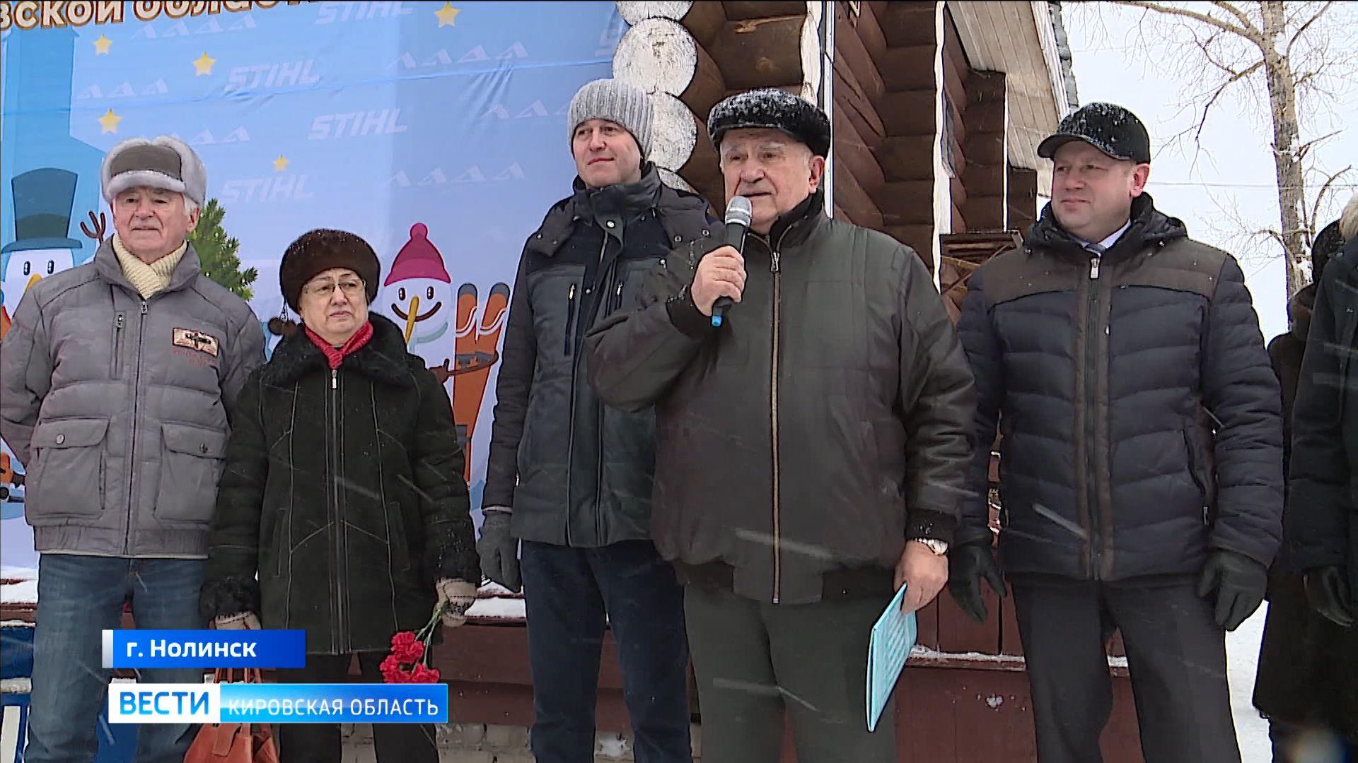 Председатель ОЗС Владимир Бакин с рабочим визитом посетил Нолинский район