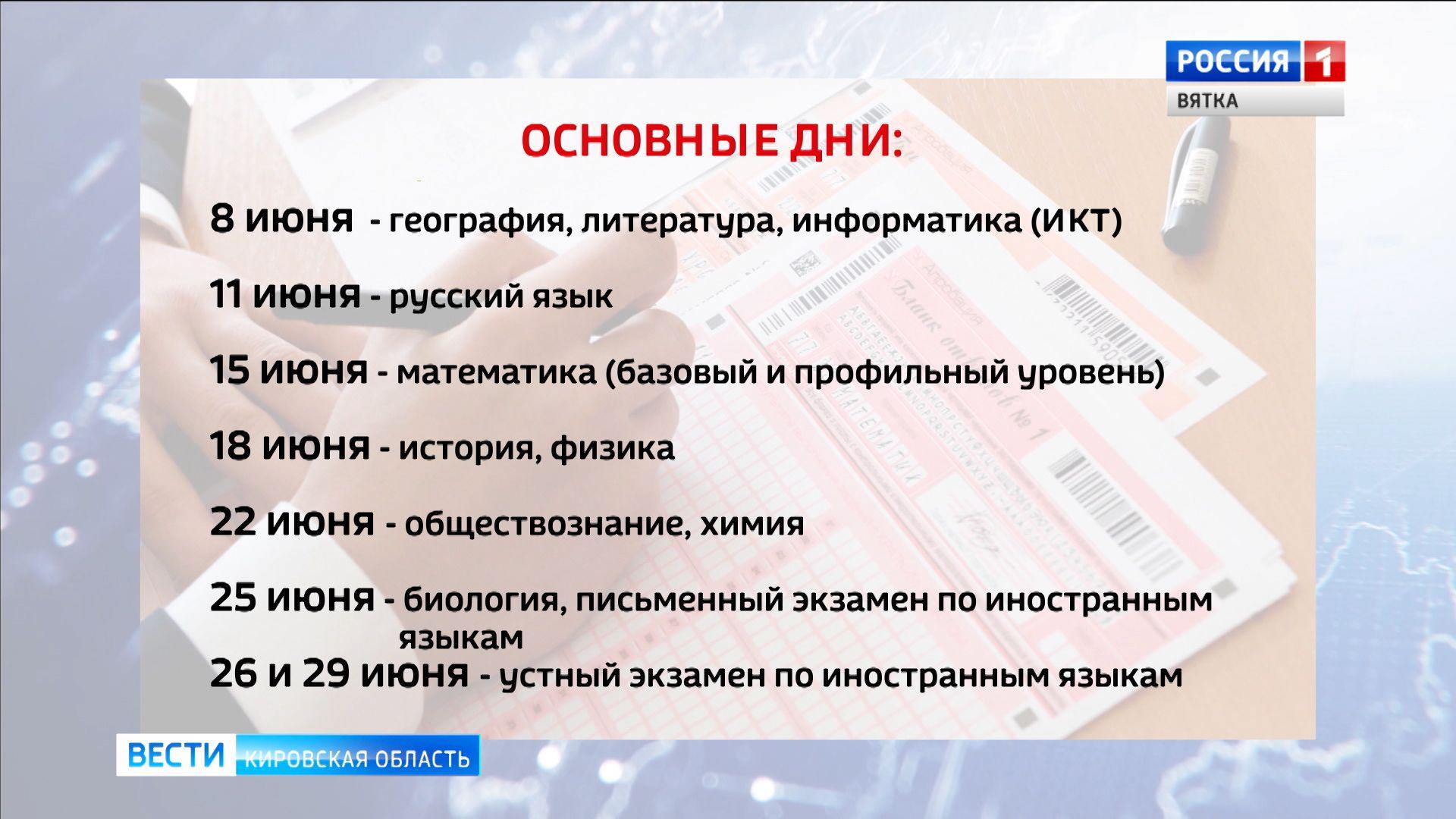 Министерство просвещения и Рособрнадзор опубликовали новое расписание ЕГЭ