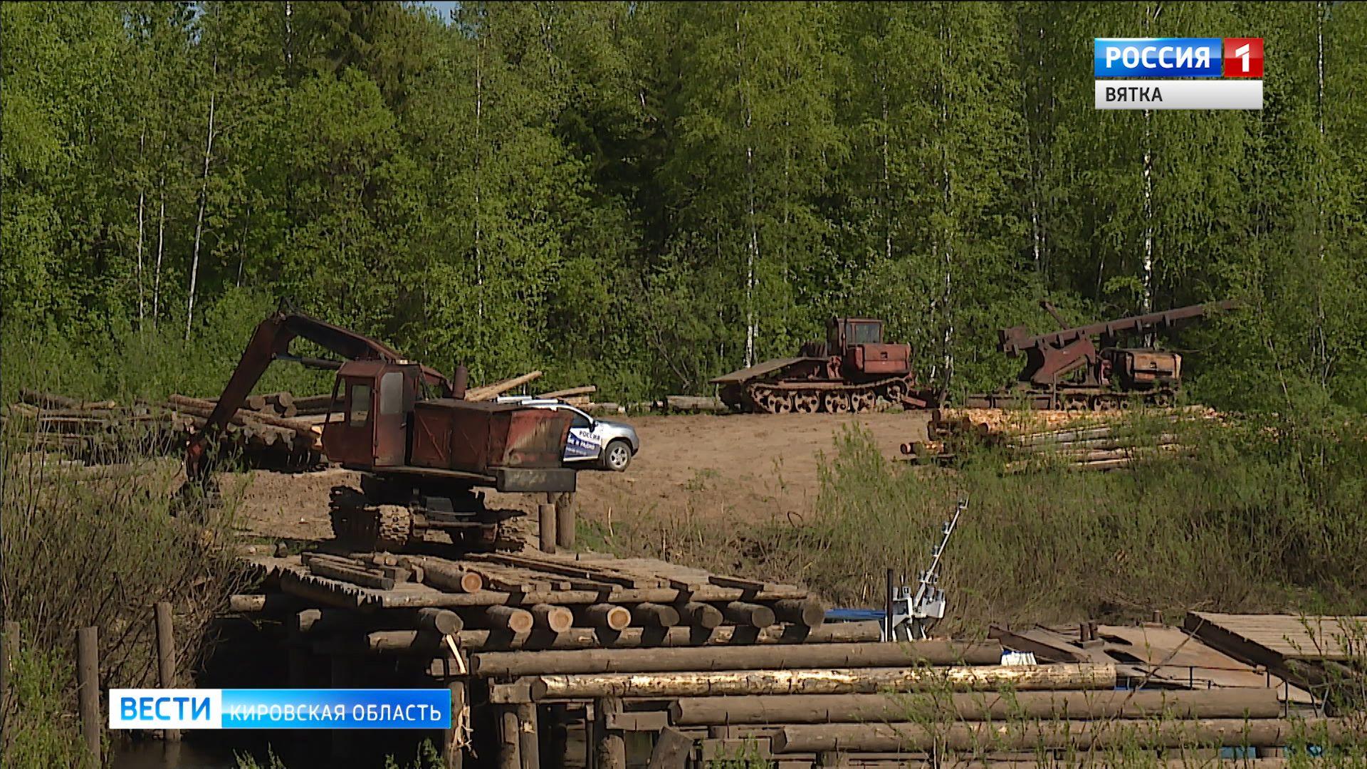 В Афанасьевском районе восстановили движение по наплавным мостам через Каму