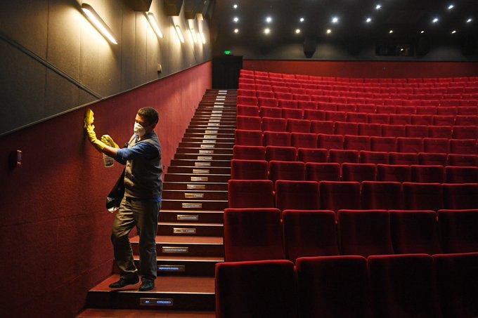 С 15 июля в Кирове могут возобновить работу кинотеатры.