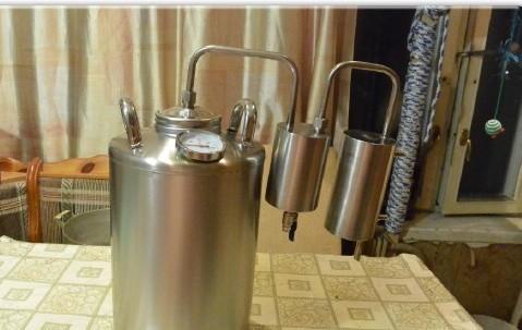 У жителя Нововятского района украли самогонный аппарат.