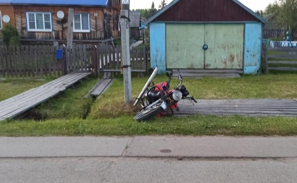 В Кировской области в ДТП пострадали 2 мотоциклиста.