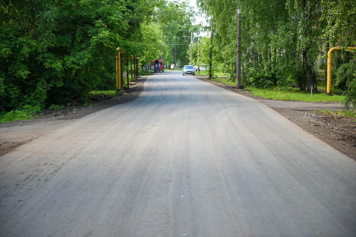 В Кирове отремонтировали еще два проблемных участка дорог.