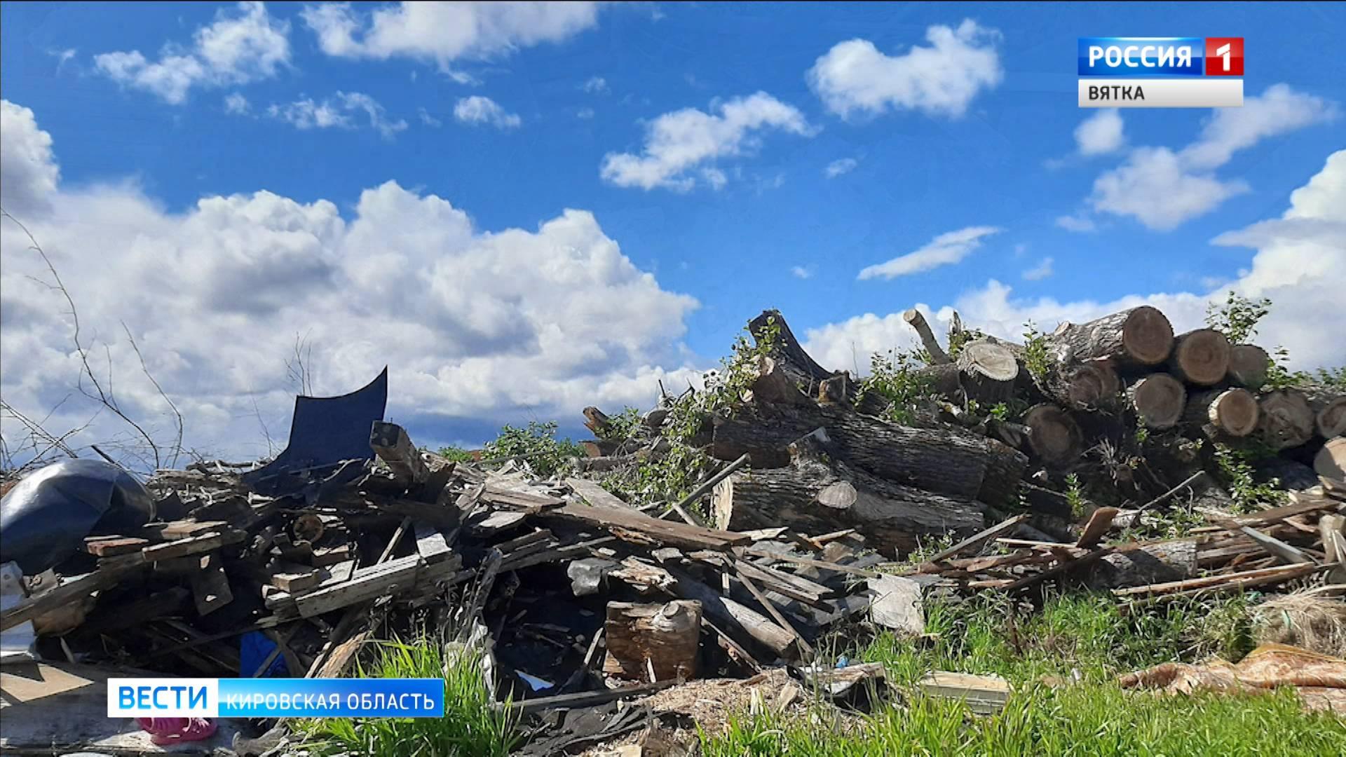 Незаконную свалку в селе Ильинском неизвестные сожгли и закопали