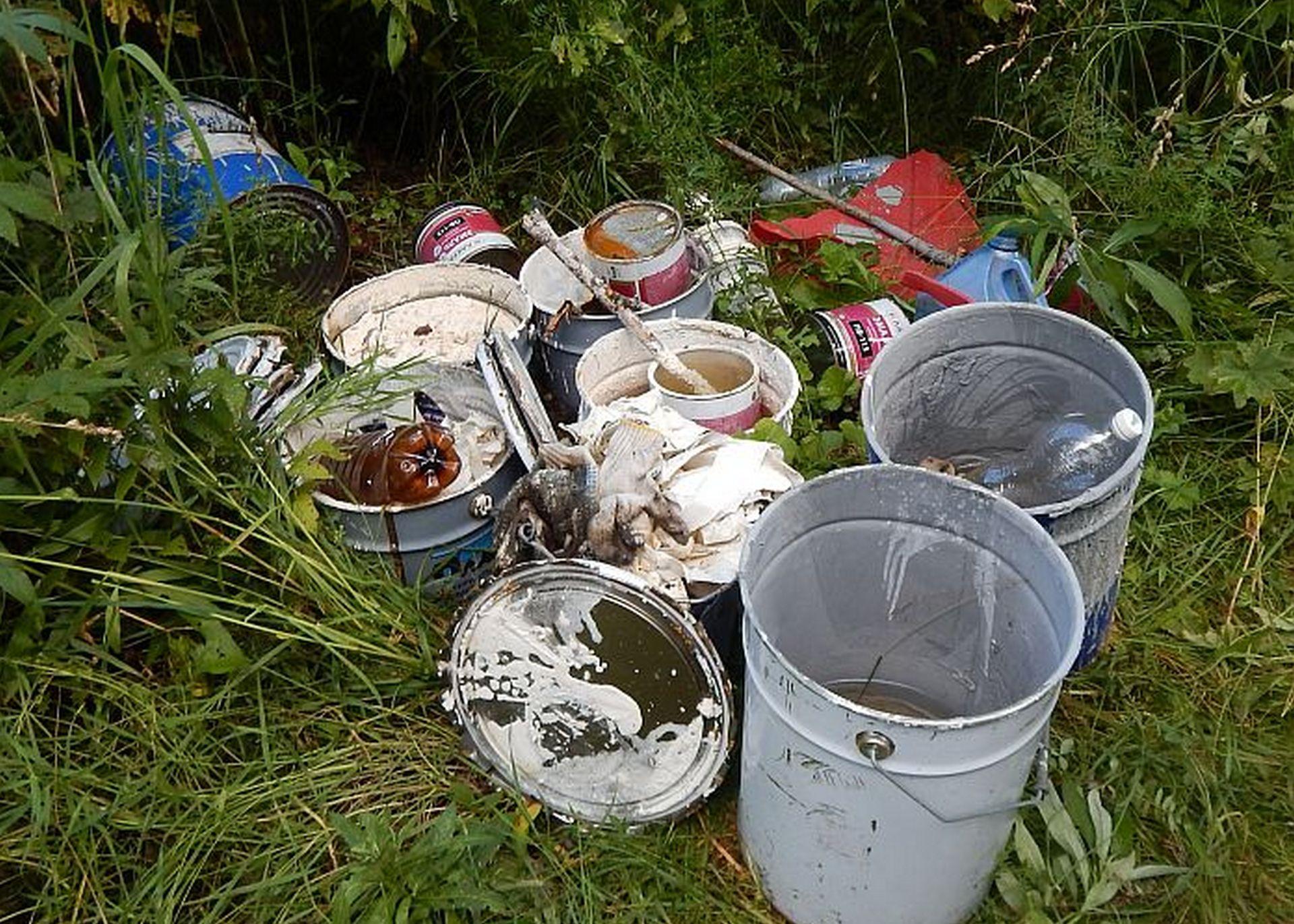 На берегу Вятки ликвидировали свалку химических отходов