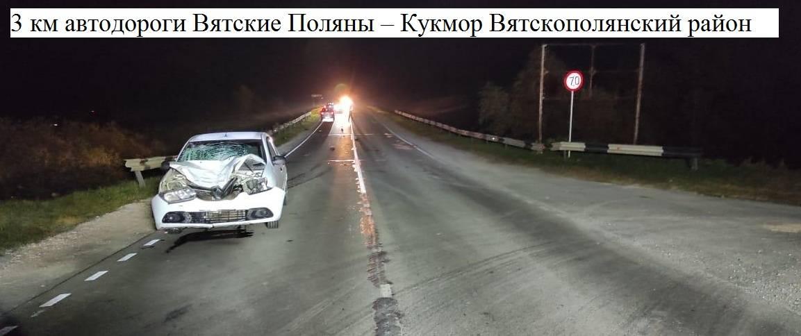 В Вятскополянском районе водитель иномарки насмерть сбил двух пешеходов