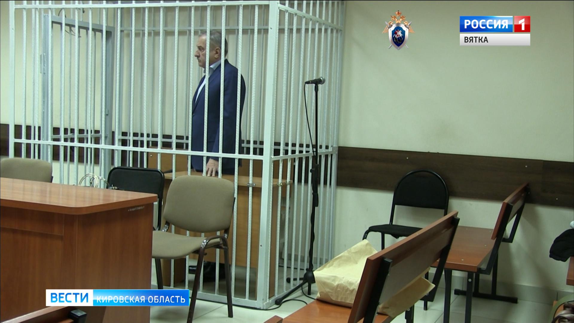 19 января продолжится суд над экс-главой Кирова Владимиром Быковым