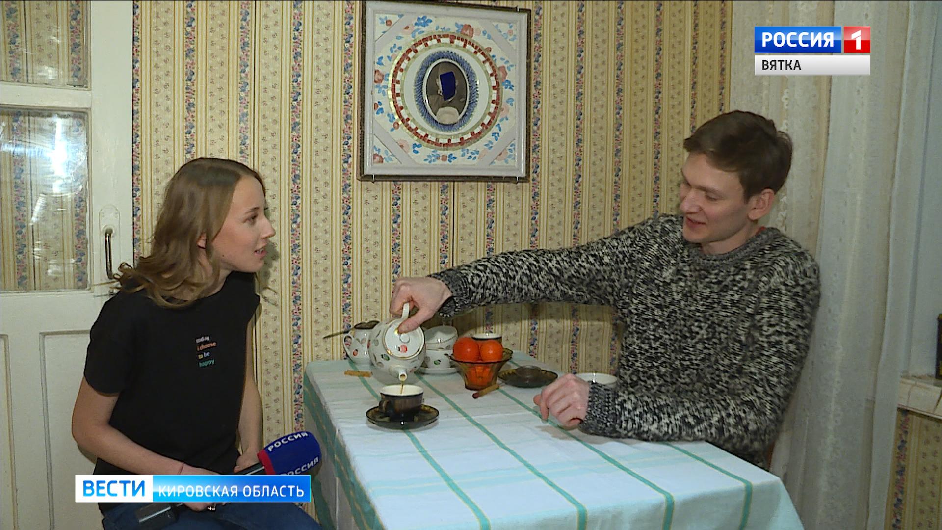 В Кирове открылась необычная выставка в «квартирном» формате