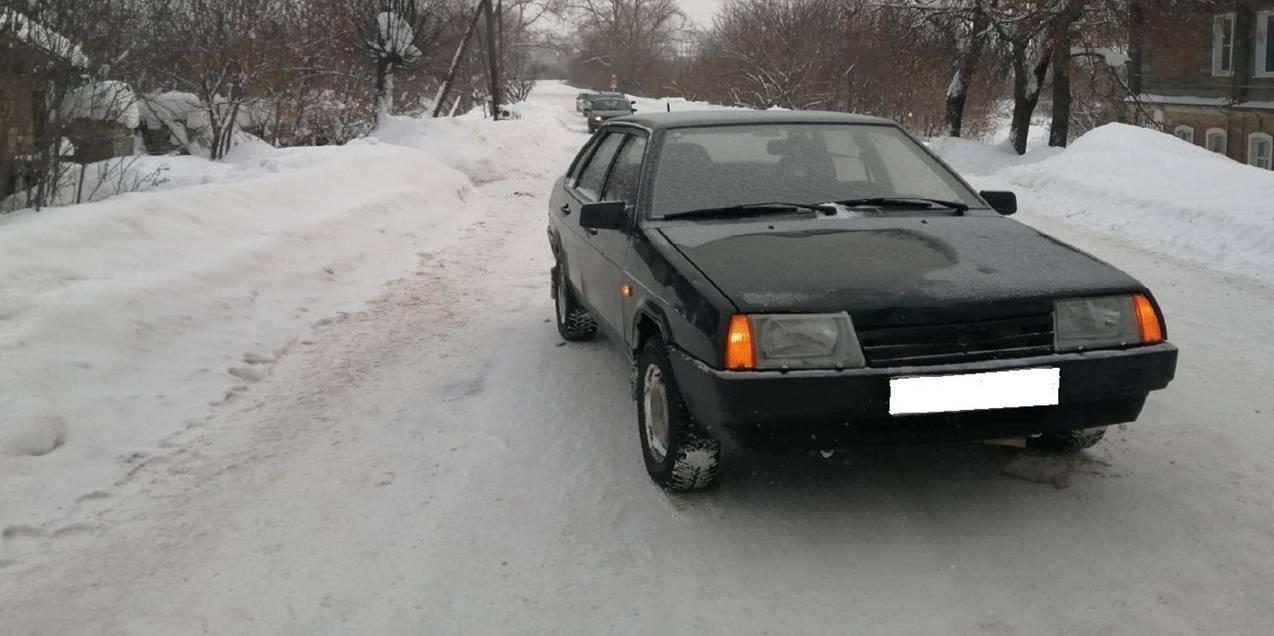 В Нолинске водитель ВАЗа сбил пешехода