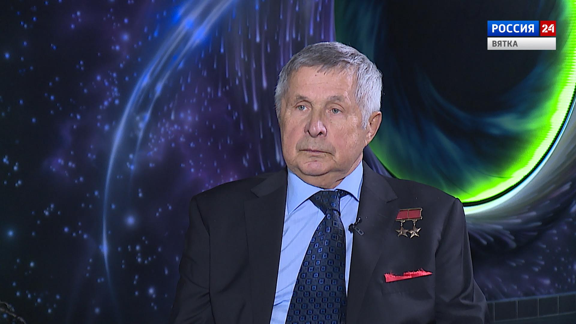 Вести. Интервью с космонавтом Виктором Савиных (10.04.2021)