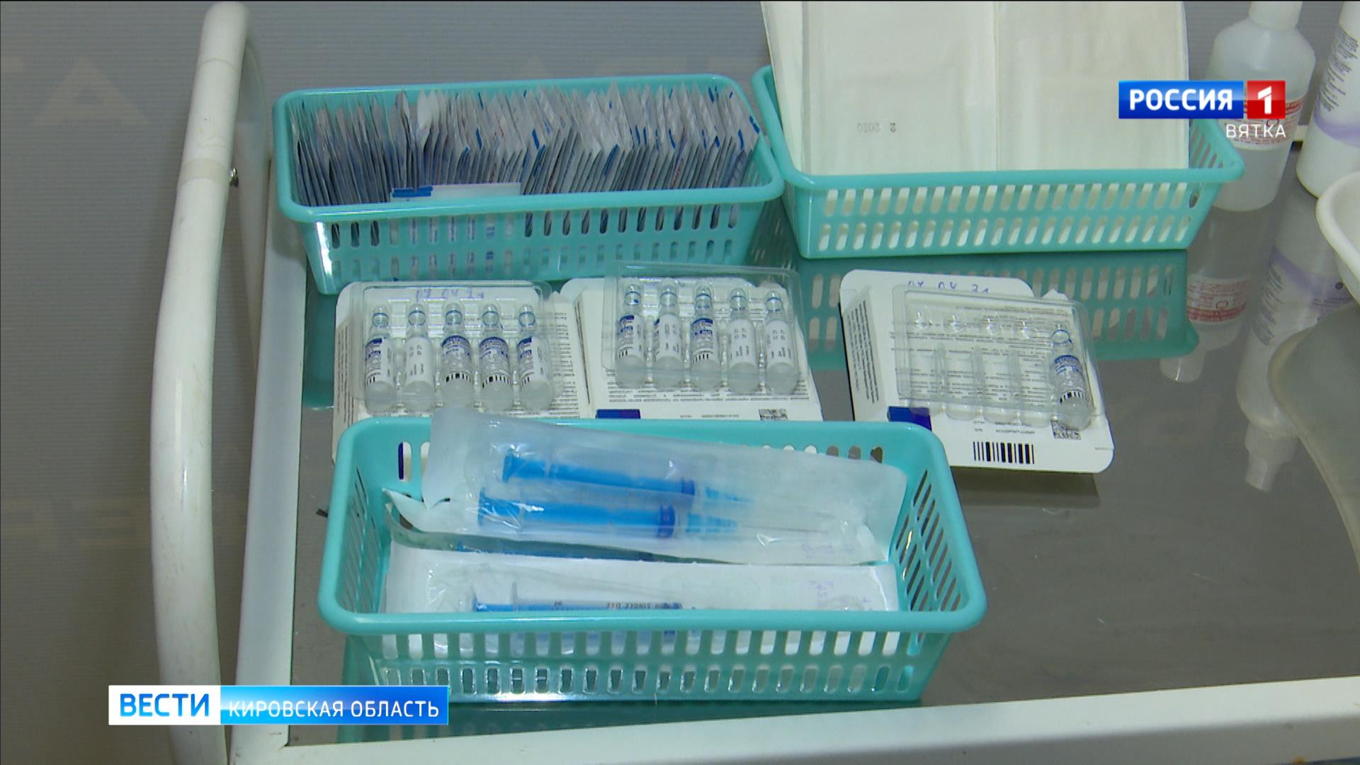 В Кировскую область поступило 18 600 доз вакцины от COVID-19