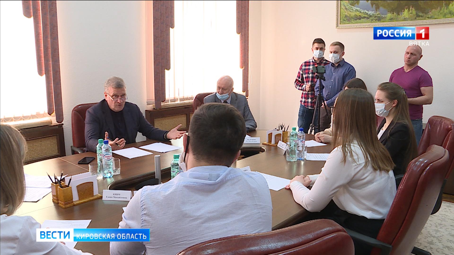 Игорь Васильев встретился со студентами-медиками