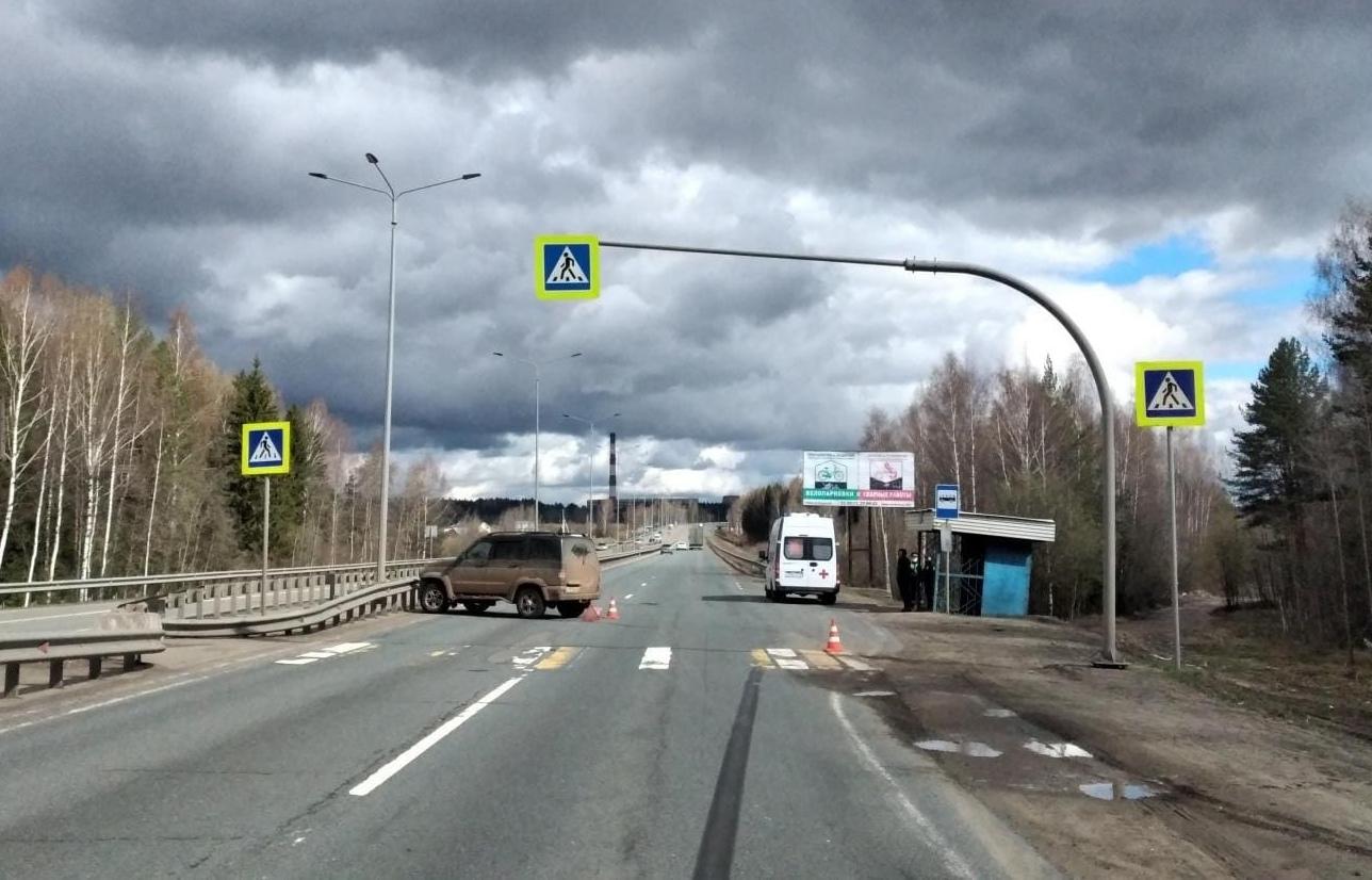 В Кирове водитель «УАЗ Патриот» сбил на переходе пенсионерку