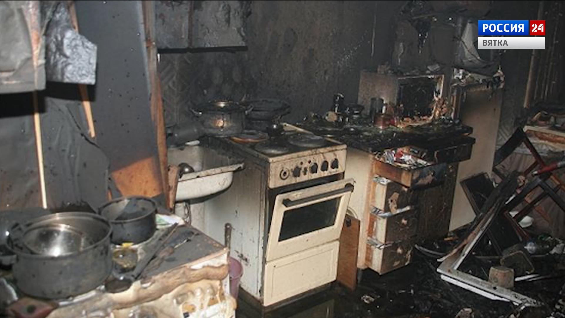 В Малмыже устанавливают обстоятельства гибели девушки в результате пожара