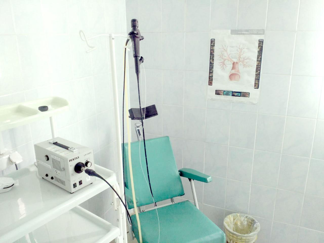 В Уржумскую центральную районную больницу поступил новый бронхоскоп