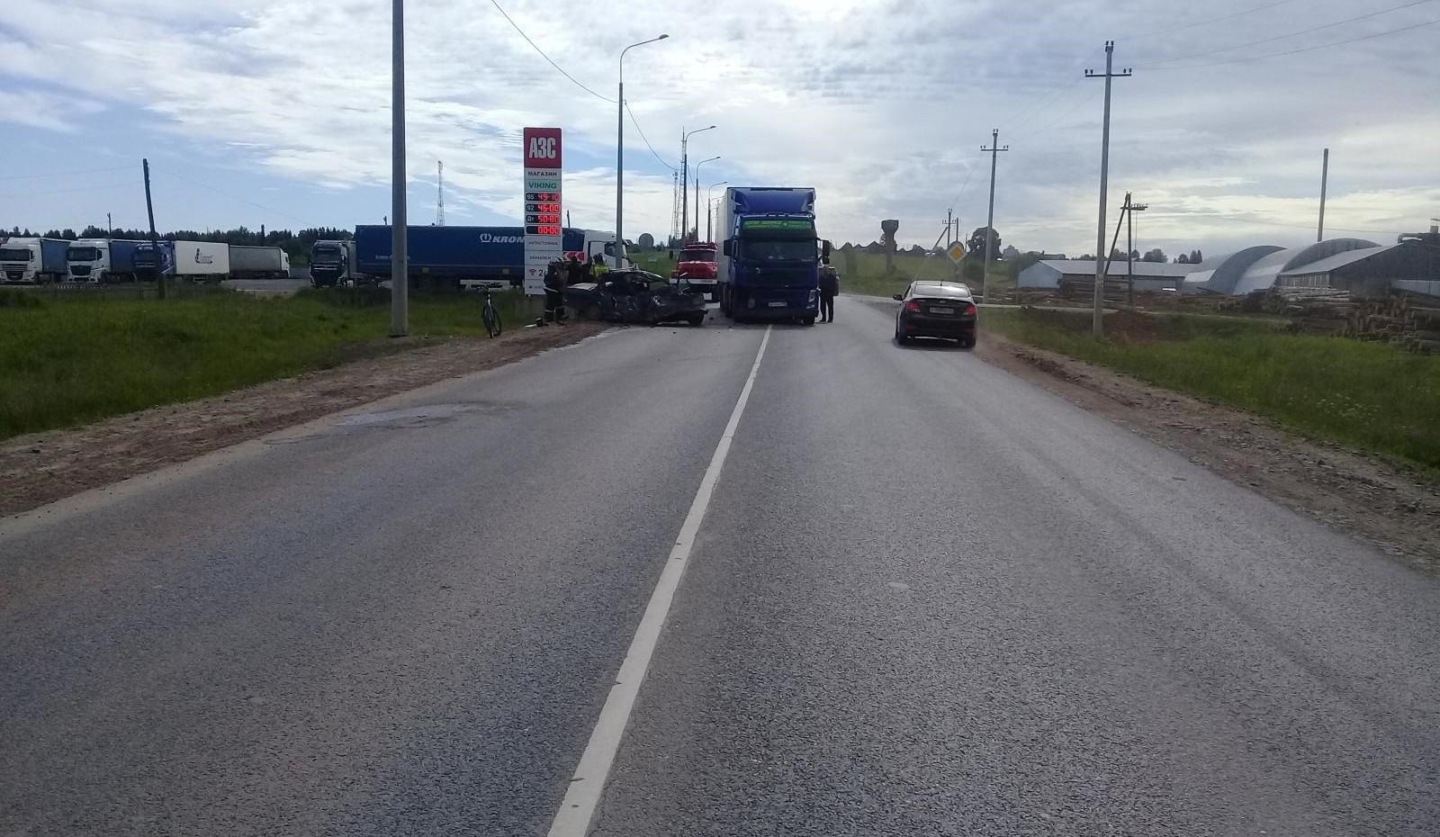 В ДТП в Афанасьевском районе пострадал мужчина