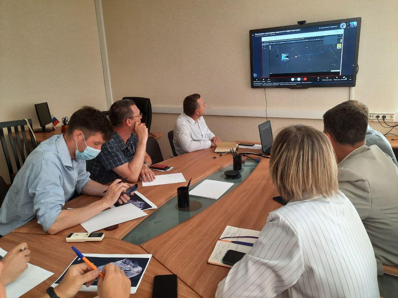 В Кировской области рассмотрели возможности применения на дорогах ИТ-технологий