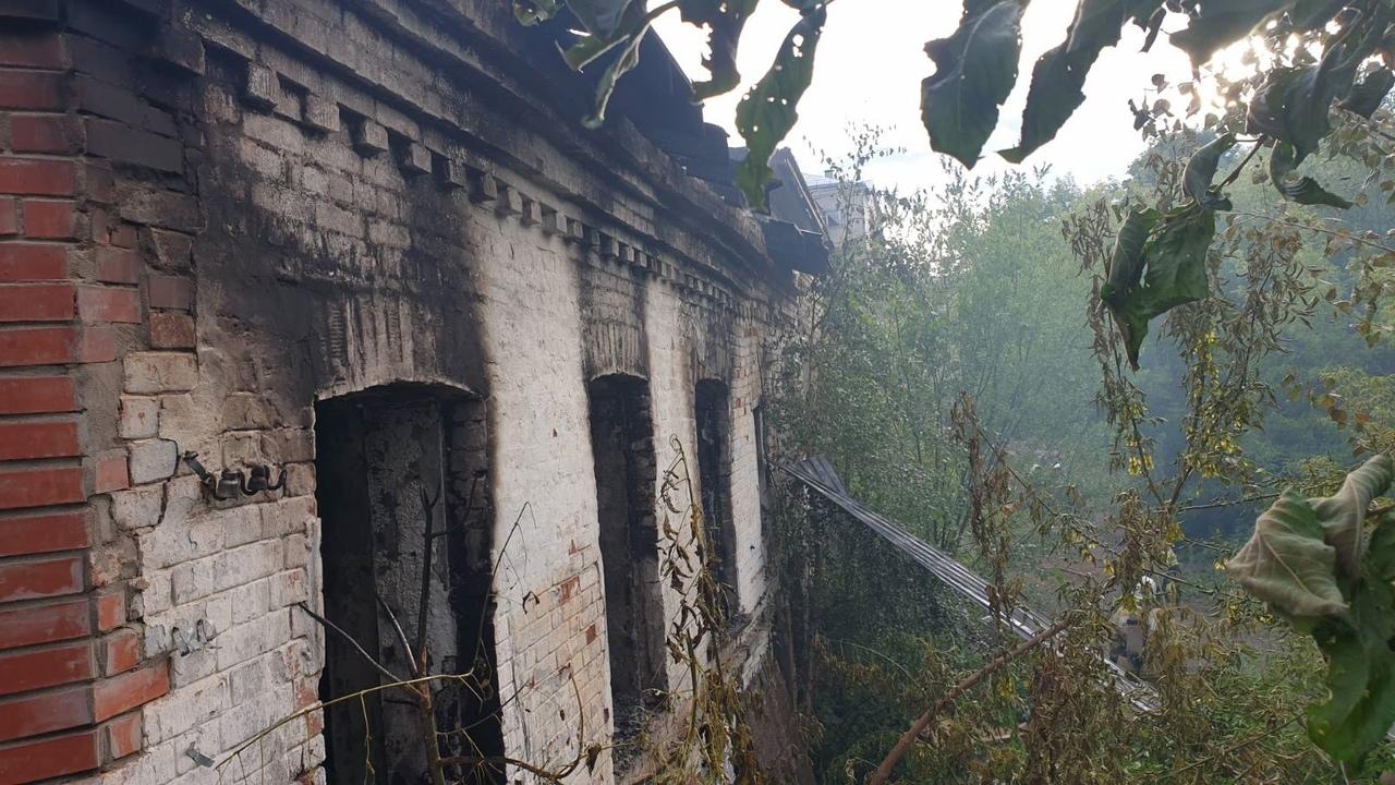 В центре Кирова произошел пожар